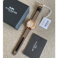 jam tangan Coach rosegold 35mm original