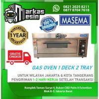 Gas Oven Roti 1 Deck 2 Tray Pemanggang Roti MASEMA