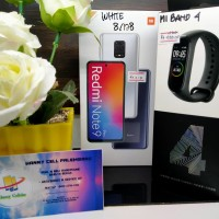 Xiaomi note 9 pro ram 8/128gb + MI BAND 4 PAKET TERMURAH ,HANNY CELL