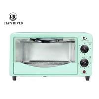 Oven listrik 12L Operasi rotasi sederhana Electric oven multi-fungsi - Macaron green