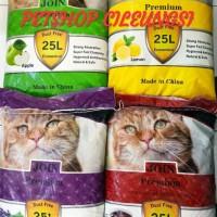 PROMO!! PAKET 3 karung Pasir wangi JOIN 25lt/pasir wangi kucing gumpal