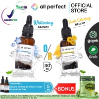 ALL PERFECT WHITENING / FRESH CALMING SERUM WAJAH 30ml BPOM ALLPERFECT