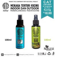 Paket Cat Care teritorial kucing spray & penghilang bau pasir kucing