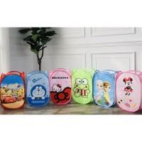 Laundry Bag Keranjang Baju Kotor Karakter Doraemon Hello Kitty MOTIF