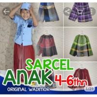 Celana sarung wadimor bahan katun buat anak umur 4 sampai 6 tahun