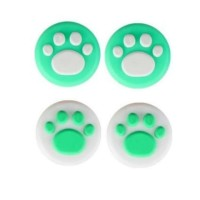 Switch Silicone Paw Thumbgrip Leaf Green