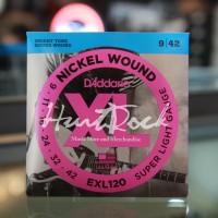 D addario EXL120 Original 9-42 - Nickel Wound Electric Guitar String