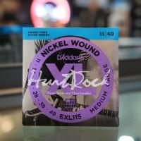D addario EXL115 Original 11-49 - Nickel Wound Electric Guitar String