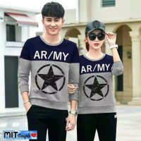 BAJU COUPLE LP STAR ARMY