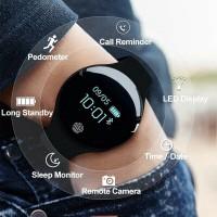 H8 Smartwatch Sanda Jam Tangan Wanita Wrist Cewek Remaja Siswa