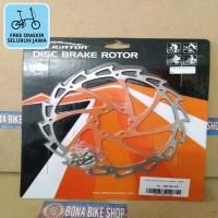 Rotor Alligator 180 mm 7 inch orange - disc FREE ONGKIR