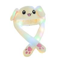 PROMO Topi kelinci gerak / rabbit hat dance with LED MURAH