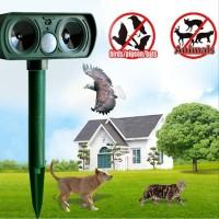 New ♬♫♪Ultrasonic Animal Chaser Repeller Repellent Cat Dog