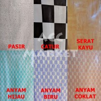 Karpet Tikar Lantai Plastik 1 ROLL 24 METER Vinyl Alas Meja