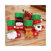 Me Hiasan Gantung Bentuk Kaos Kaki Santa untuk Dekorasi Pohon Natal