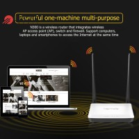 Tenda N300 Router Repeater Wifi Wireless 300Mbps AP + Switch +