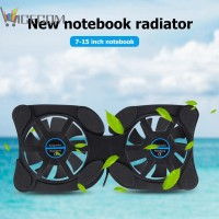 Portable Collapsible Laptop Cooler USB Dual Fan Cooling Pad for