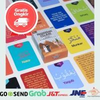 Mainan Anak Perempuan Edukasi Kartu Flash Card Islam