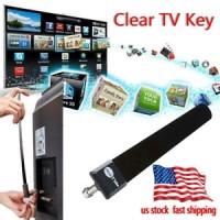Kabel Antena TV Digital Indoor Portabel Warna Hitam untuk HDTV