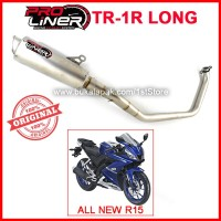 Knalpot Racing ProLiner TR-1R Long Yamaha All New R15 155 VVA V3