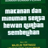 Angk Sunnah Sunnah Pilihan Makanan Dan Minuman Serta Hewan Qurban Semb