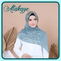 √ Kerudung Atakaye | Printing Bubble Voal Square Untuk Kebaya