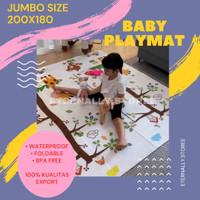 Tikar Foam Lipat Baby PlayMat - Matras Foam Matras Bayi - RANDOM, TIDAK PAKAI TAS