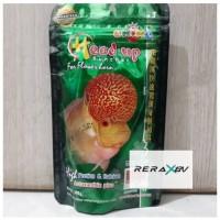 pakan Okiko Head Up Size M makanan pakan ikan louhan Made In Thailand