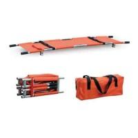 Tandu Lipat 4 Aluminium with Bag / Folding Stretcher
