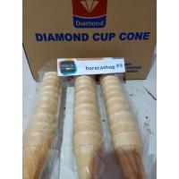 Cup cone es krim ice cream Diamond