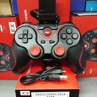 Gamepad / joystik Bluetooth X3 Game Controller HP And Android & TV Box