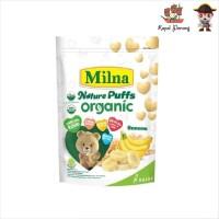 Milna Organic Puffs Banana 15 gram