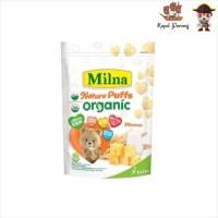 Milna Nature Puff Organic Cheese 15 gram