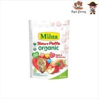 Milna Nature Puff Organic Apple and Mix Berries 15 G