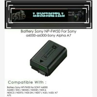 Battery sony NP-FW50