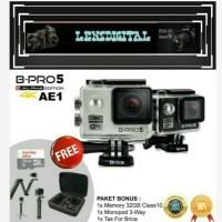Brica B-Pro5 Alpha Edition 4K(Brica AE1 4K) -Bonus 32GB-Tas-3Way
