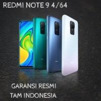 Xiaomi Redmi Note 9 Ram 4/64 Garansi Resmi Xiaomi Indonesia/TAM