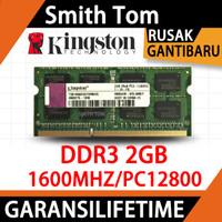 Ram laptop KINGSTON SODIMM DDR3 2GB 1600MHZ/12800&1333MHZ/10600