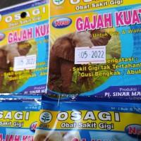 Osagi (obat sakit gigi) Gajah Kuat dengan khasiat cepat