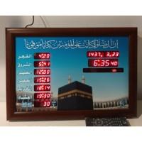 Jam Dinding Digital Adzan Waktu Sholat AZ-3550 Remote