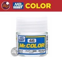 MR Color C46 - Clear - MR Hobby Gundam Model Kit Airbrush Paint