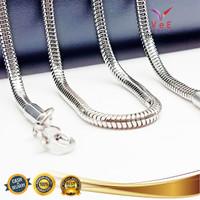 Kalung Titanium Asli Belut Ular Bulat 70cm - VeE Kalung Pria Wanita