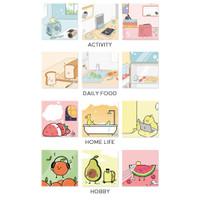 Everyday Stuff Sticky Notes Set / Catatan Tempel / Kertas Notes