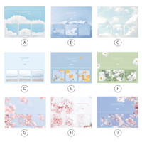 Flower and Cloud Series Sticky Notes Set / Catatan Tempel / Post It