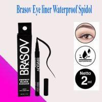 EyeLiner Waterproof Brasov Perfect Black Spidol