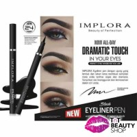 Implora Black Eyeliner Pen Waterproof and Dramatic Look 1.7g | Impora