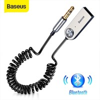 BASEUS AUX BLUETOOTH ADAPTER DONGEL CABLE FOR CAR 3.5mm TRANSMITTER