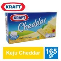 Kraft Keju Cheddar 165 gr
