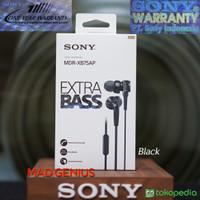 Sony Original MDR-XB75AP / MDR XB75AP / MDRXB75AP / XB75 Black Headset