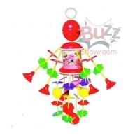 Merry Go Round Musical Toy Nursery Mainan Musik Bayi Gantung Putar